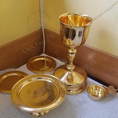 Гальваническое золочение церковной утвари в РК «ЭРА»